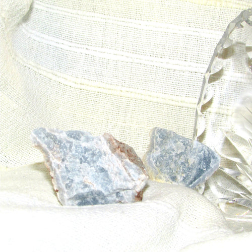 Angelite - Rough (30mm x 15mm)