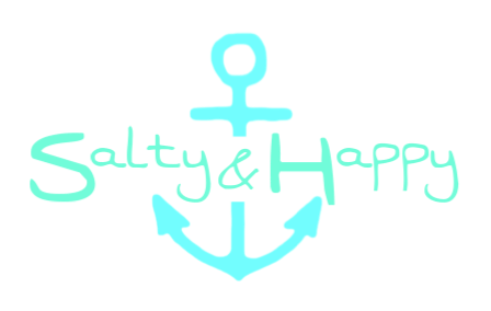 Salty & Happy Sticker