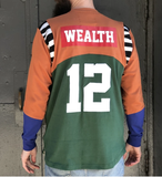 Wealth Rugby Crewneck (Cooper/Multi)