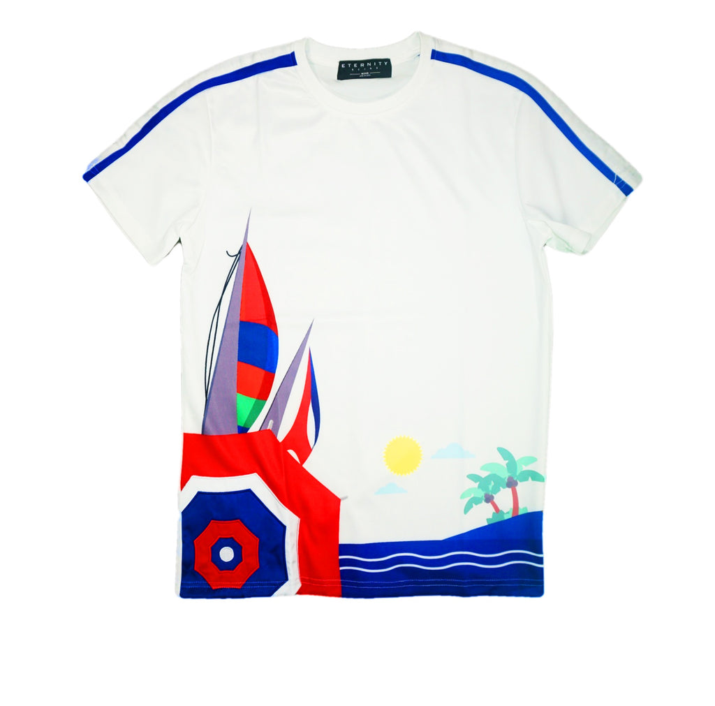 Leisure S/S Shirt (White)/MD1