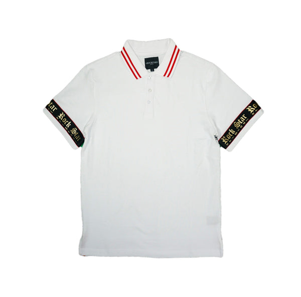 Erno Rockstar Polo (White)MD1