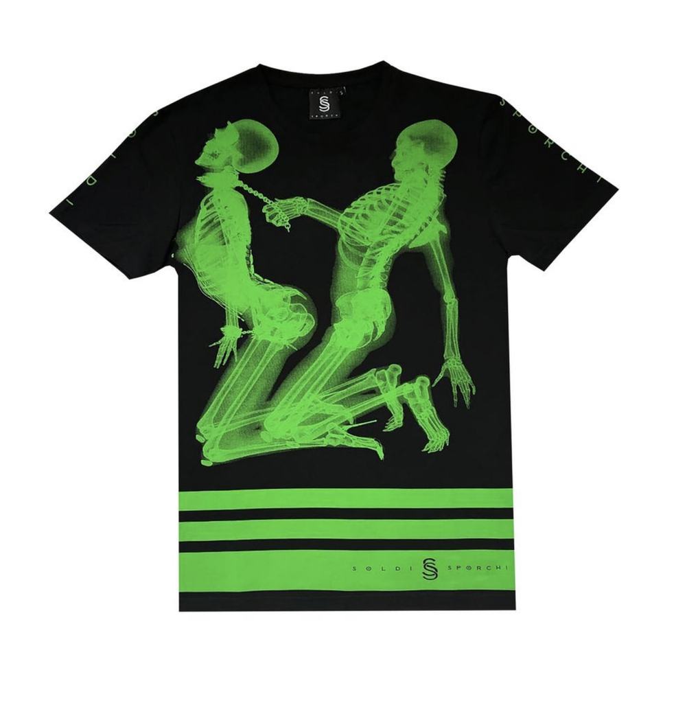 Hit It X-Ray Tee (Black) /D14