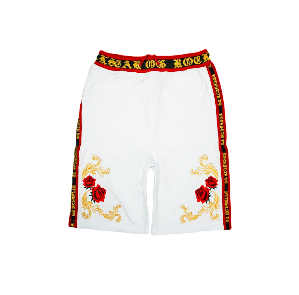 Rosenthal Gold Trim Shorts (White)MD1