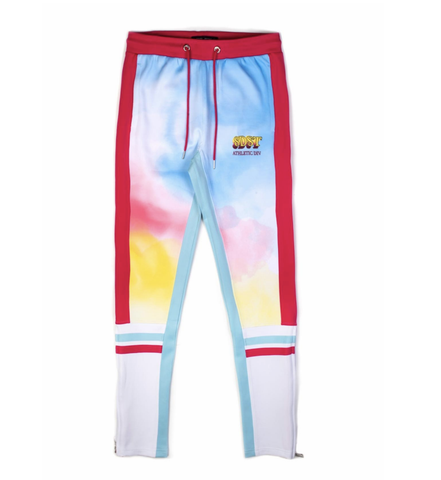 Smear TrackPants (Lt. Blue) /C1