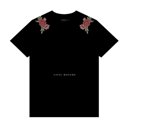 Civil Clothing- Tropez Tee (Black)