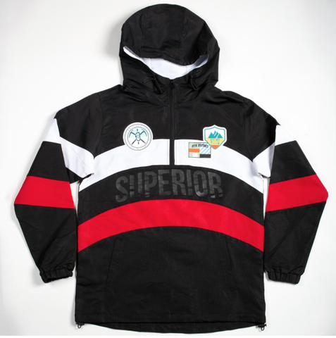 Superior Wind Breaker Jacket (Black) /C7