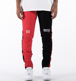Union Track Denim Ricci (Red/Blk)C6