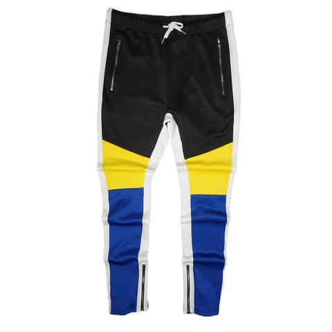 Tricot Track Pants (Royal Blue/Multi) / D2