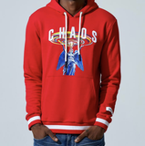 Chaos L/S Hoodie (Red) /D16