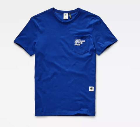 Graphic 23 T-Shirt (Hudson Blue)