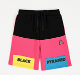 Kids Blocks Shorts (Pink) / MD2