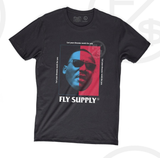 Dreams Work Tee (Blk/Red/Blu) /D4