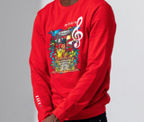 Orchestra Crewneck (Red) /D4