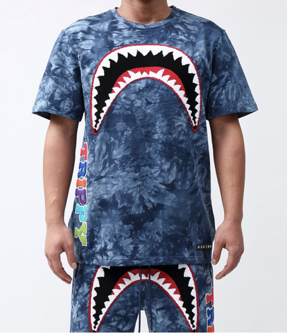 Trippy Tie Dye Shark Set (Blue) /D
