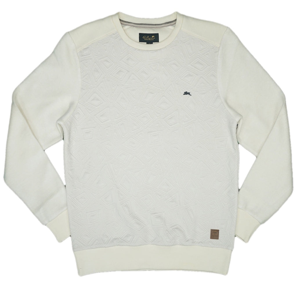 Jontray Embossed Sweater (Creme)