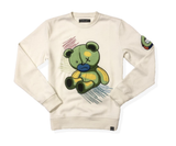 Scribble Bear Crewneck (Natural) /D17