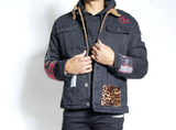 Masseria Sherpa Patch Work Jacket (Black)