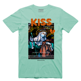 Kiss Yesterday Tee (Mint/Org) /D4