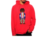 Digital Nerd Chenille Embroidery Hoodie (Red)