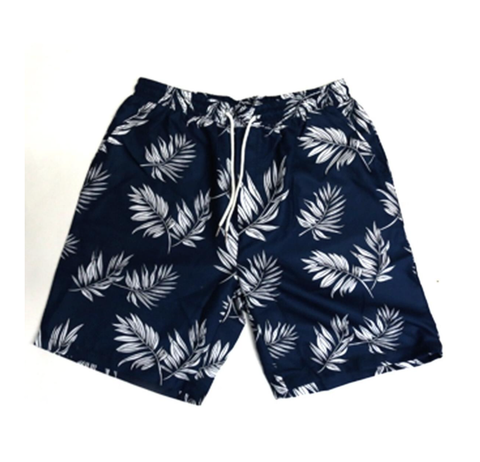 3 Pocket Summer Shorts (Leaf Navy) /D12