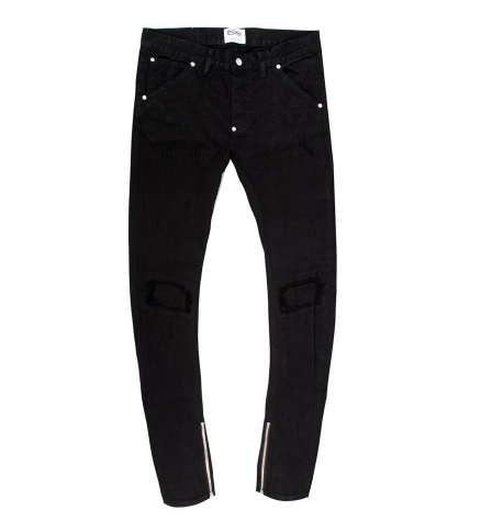 Gary Biker Denim (Black) /C6