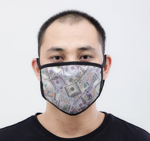 Money Face Mask (Multi)
