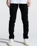 Skywalker Biker Denim (Black Distressed) /C3
