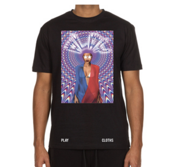 Trippy Play Tee (Black)