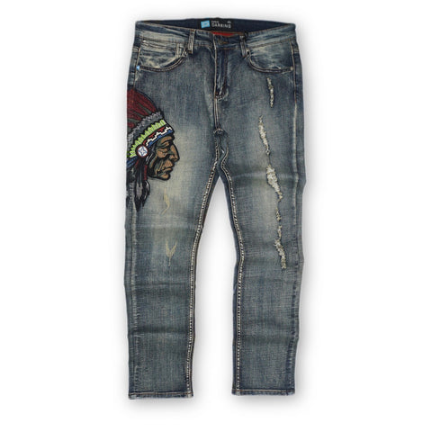 Chieftain Stretch Denim (Indigo Wash) /C5