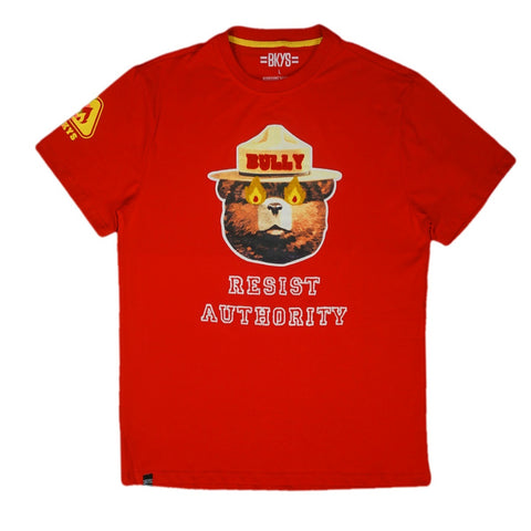Bully Chenille Tee (Red)