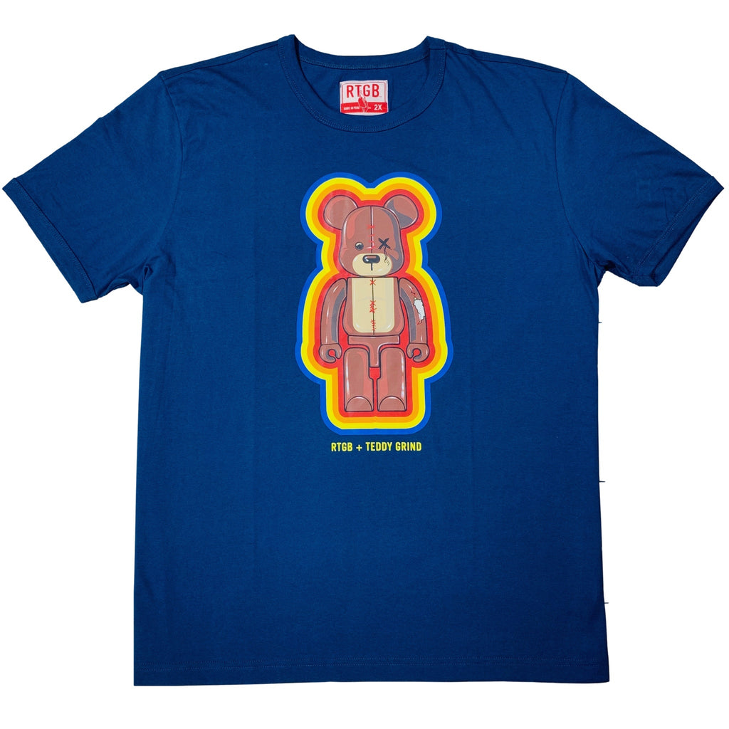 Toy Teddy Grind Tee (Navy) / D14