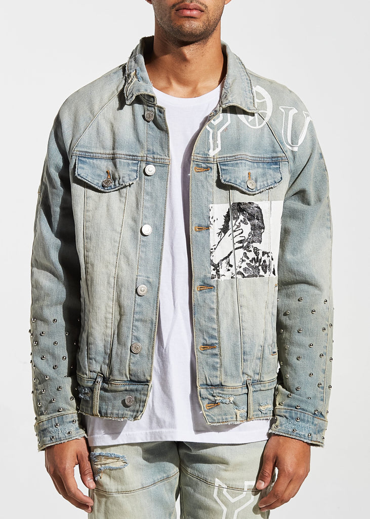 Spungen Denim Jacket (Blue)