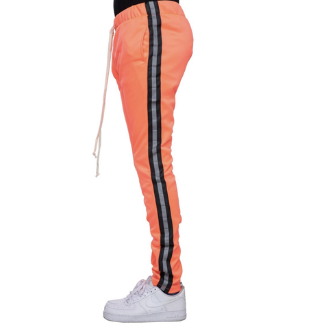 Reflective Track Pants (Neon Pink/Black) / D6