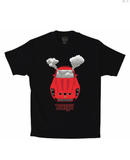 Rari Exhaust Tee (Black/Red)