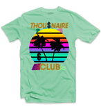 Thousnaire Money Sunset Tee (Aqua) /D6