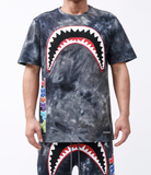 Trippy Tie Dye Shark Set (Black) /D
