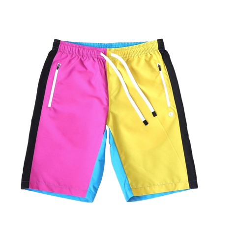 Hero Color Block Shorts (CMYK Combo) /D11