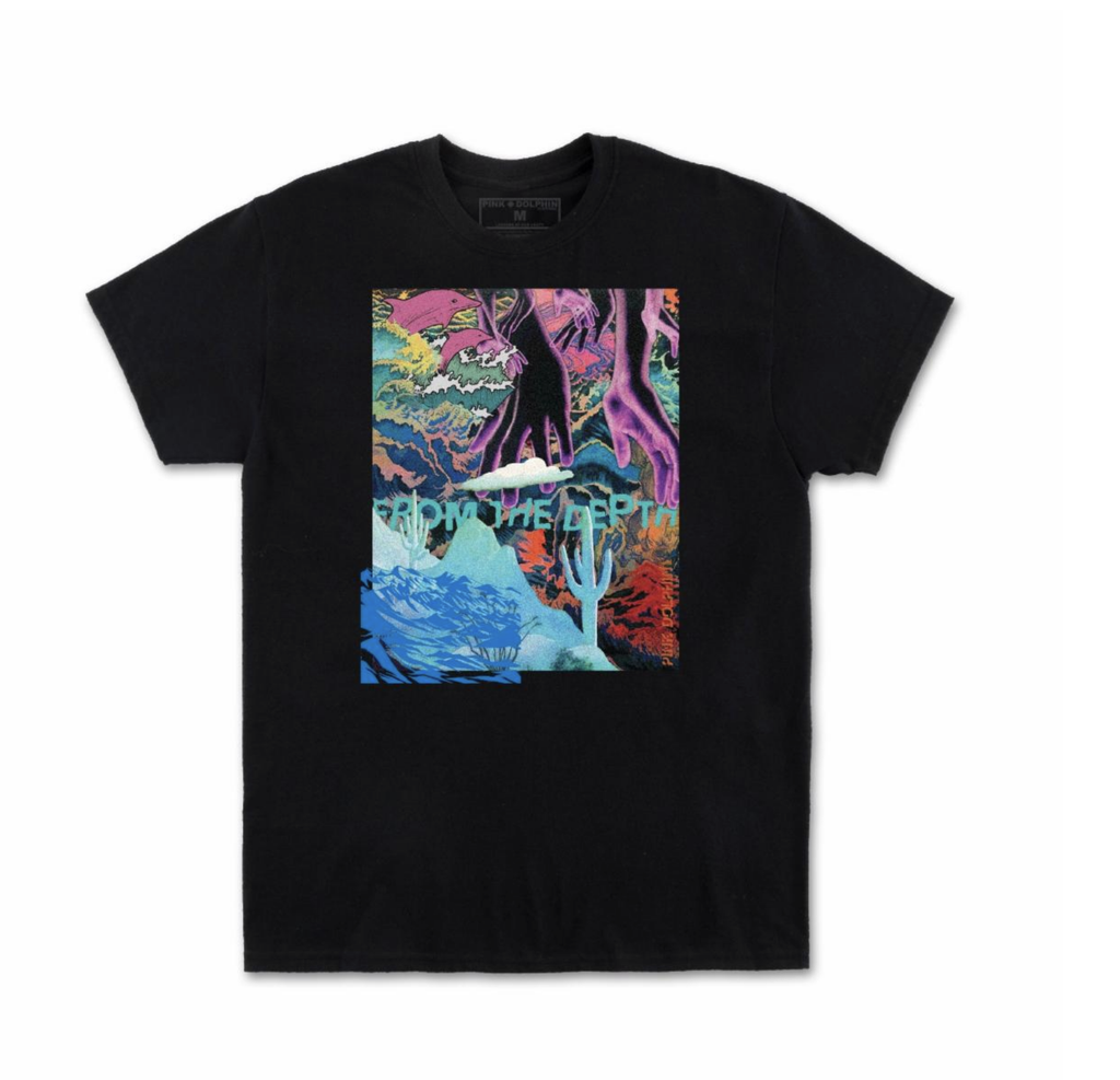 From The Depth Tee (Black)