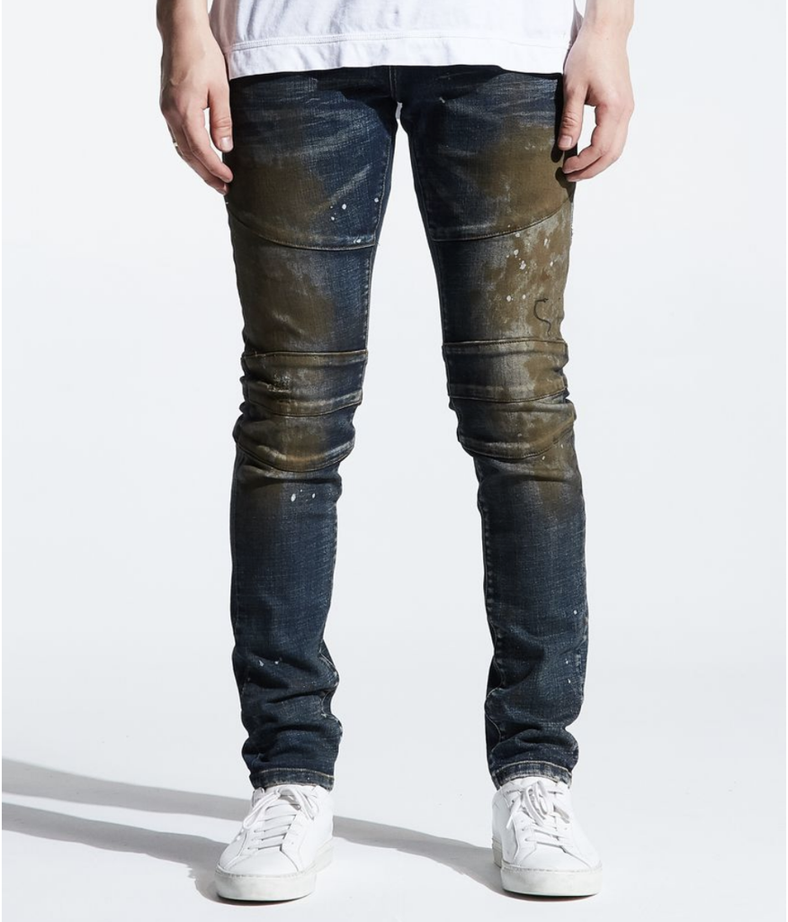 Montana Stained Denim (Dark Indigo Oil) /C1