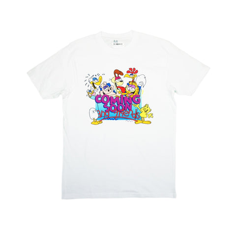 Gnarfield Tee (White)