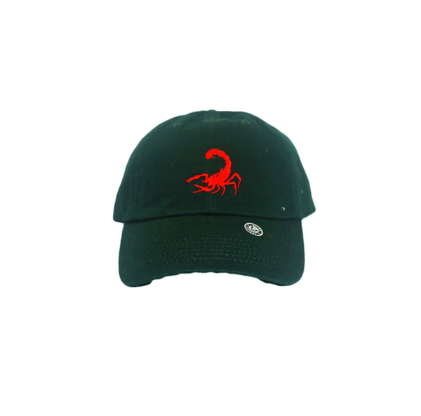 Scorpion Dad Hat (Dark Green)