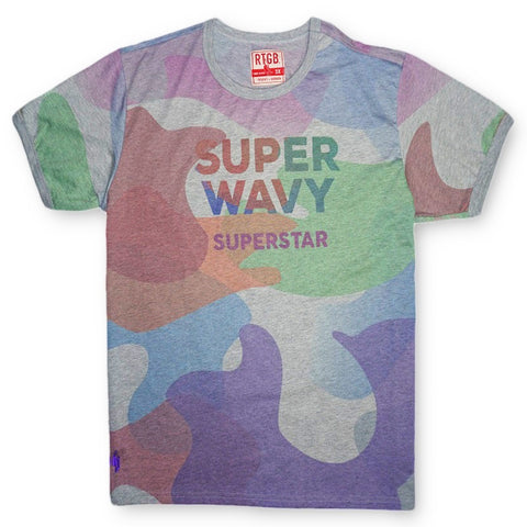 Super Wavy Tee (Multi Heather)