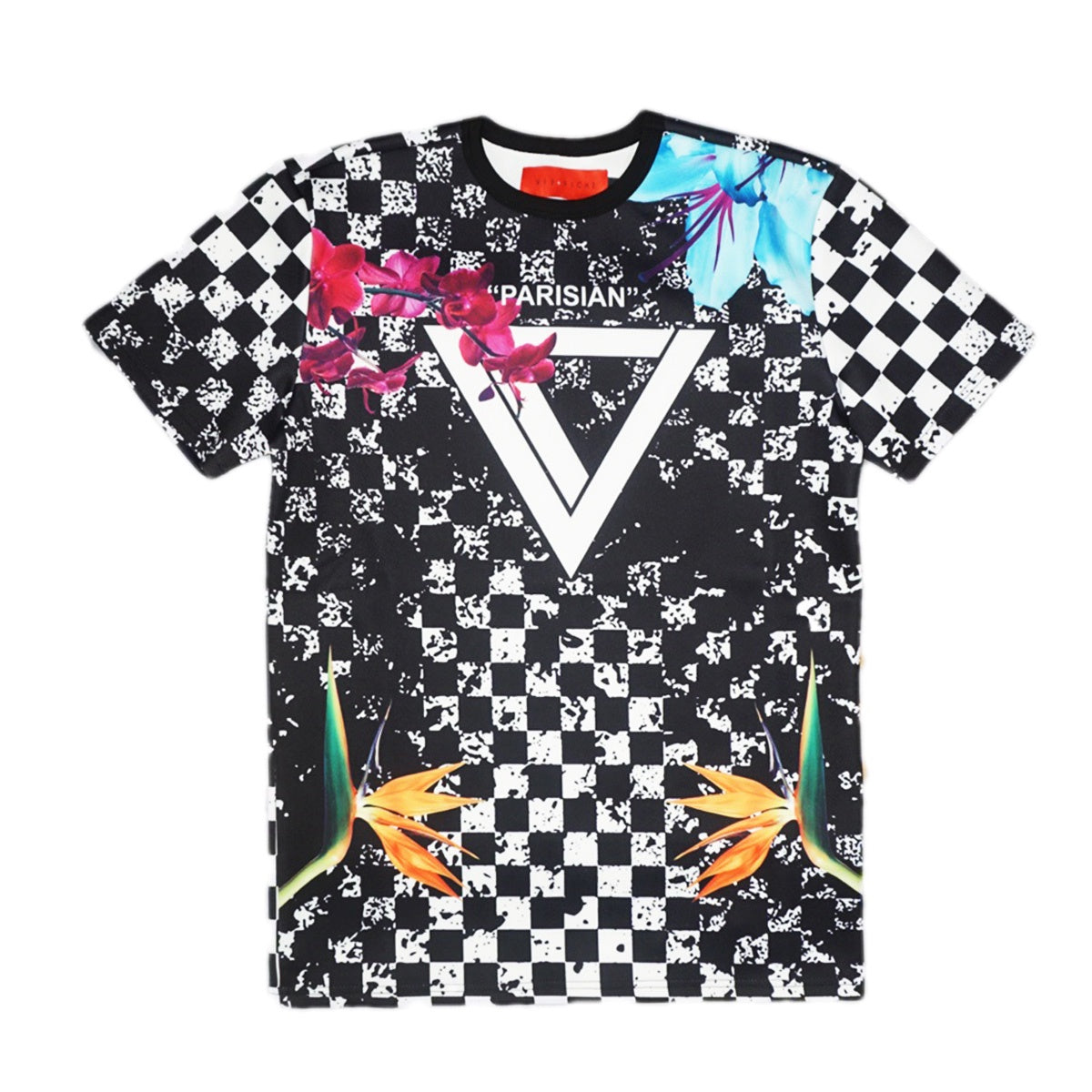 Dirty Checkers T-Shirt (Black)