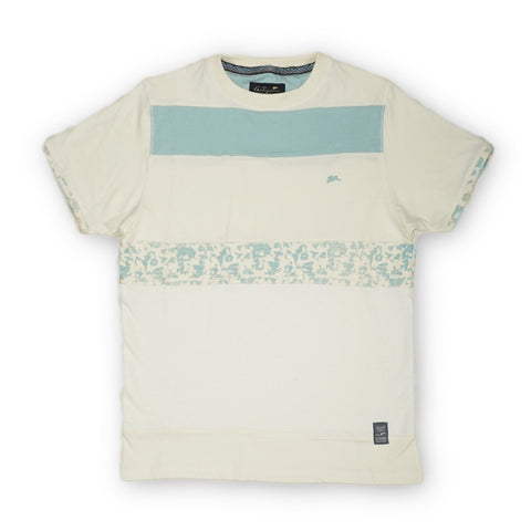 Mark Mix Media Tee (Blue Haze)