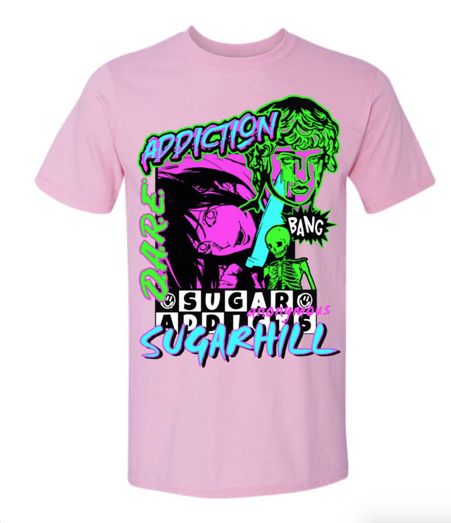 Sugar Addicts Tee (Lilac)