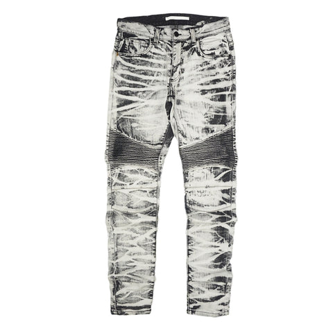 Biker Denim Ambassador Bonaparte (Grey Wash)