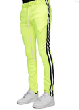 Reflective Track Pants (Neon Green/Blk) / C8