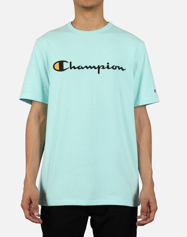 Champion Heritage Tee (Waterfall Green)