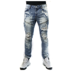 Distressed Denim (Victoria Indigo) / C7