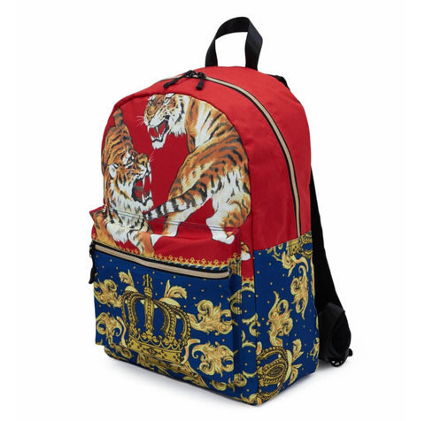 Fighting Tiger Backpack (Multi)